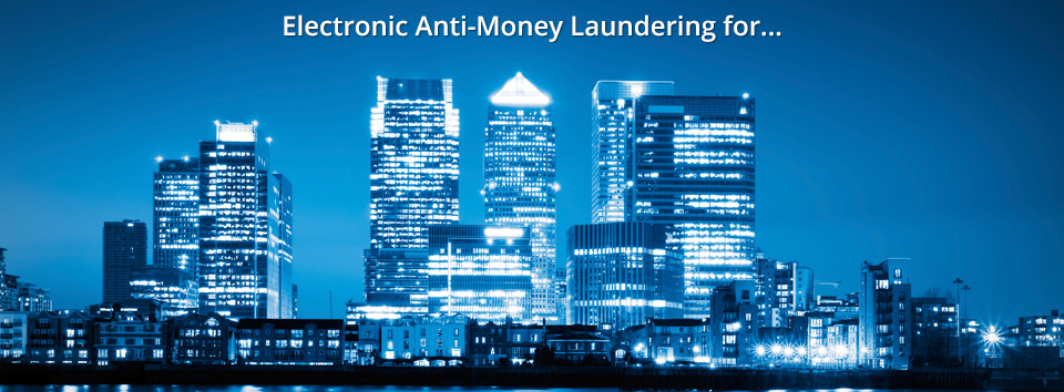 Sanctions screening and electronic anti-money laundering for